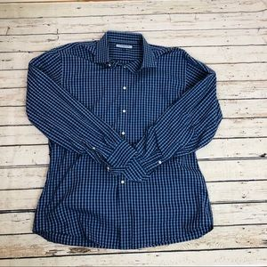 Tommy Hilfiger multiple blue Gingham Button Down